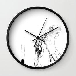 the shrimp sucker Wall Clock