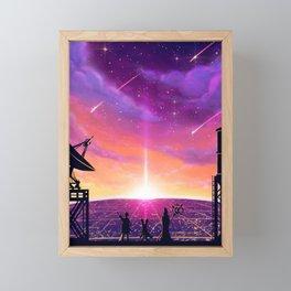 Rising Sun Framed Mini Art Print