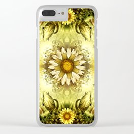 """Victorian Garden Spring Flowers"" Clear iPhone Case"