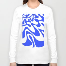 Swirly Whirly: Abstract Pop Art Painting by Bruce Gray Long Sleeve T-shirt