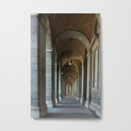 Enfilade right, Royal palace, Madrid Metal Print