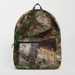 The Holy Cave of Covadonga Backpack