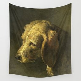 Nicolas Toussaint Charlet - Dog's head (1820-1845) Wall Tapestry