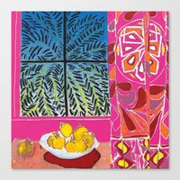 matisse Canvas Prints featuring Matisse version by bbay