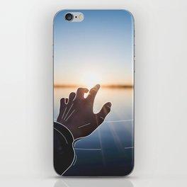 Line Sunset iPhone Skin