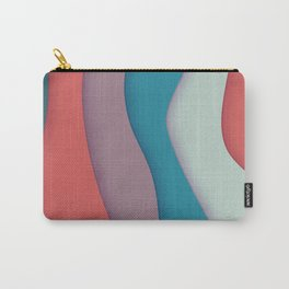 Ribbons of Colors Carry-All Pouch