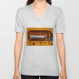 The Ferry Boat Newhouse Unisex V-Neck