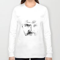 neil gaiman Long Sleeve T-shirts featuring Simon Neil - Biffy Clyro  by McFREE