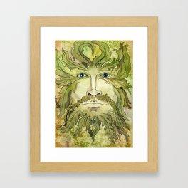The Greenman Framed Art Print
