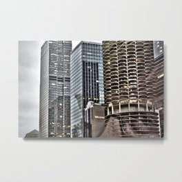 This is Steve. This Is Chicago. Hi! Metal Print