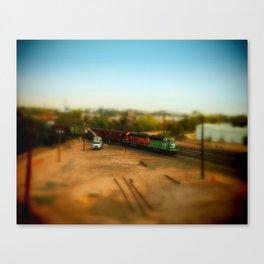 Train Yard Canvas Print