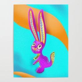 Alebrije (Hare) Poster