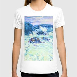 John Peter Russell - Rough sea, Morestil - Digital Remastered Edition T-shirt