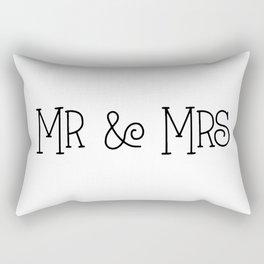 Mr &Mrs Rectangular Pillow