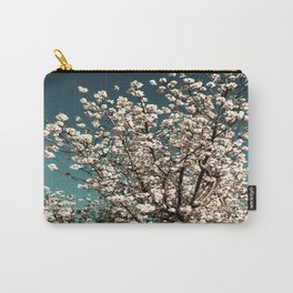 Winter Blossoms Carry-All Pouch