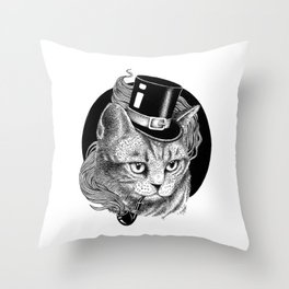 THE CAT AND THE HAT Throw Pillow