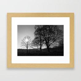 Over Shadowed Framed Art Print