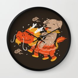 Dog's Year Wall Clock