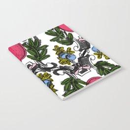 Corinthian Grapes Notebook