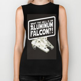 What the Hell is an Aluminum Falcon  Biker Tank