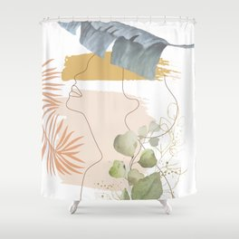 Line in Nature I Shower Curtain