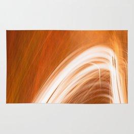 Abstract Light Streaks Rug