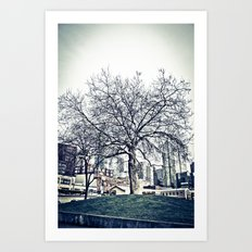 The Urban Giving Tree Art Print