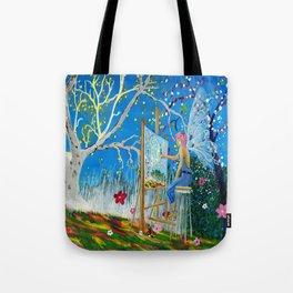 Fairy Artist Tote Bag
