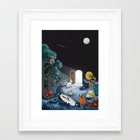wonderland Framed Art Prints featuring Wonderland by Robert Richter – Artist & Illustrator