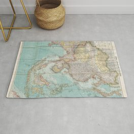 Flemmings Kriegskarten / Flemming's War Maps (1915) - 018 China, Japan and South Asia Rug