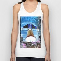 tinker bell Tank Tops featuring bell by  Agostino Lo Coco
