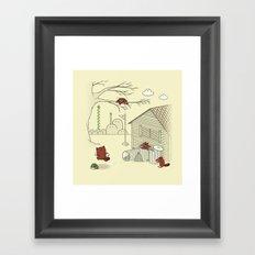 Unexpected Guest Framed Art Print