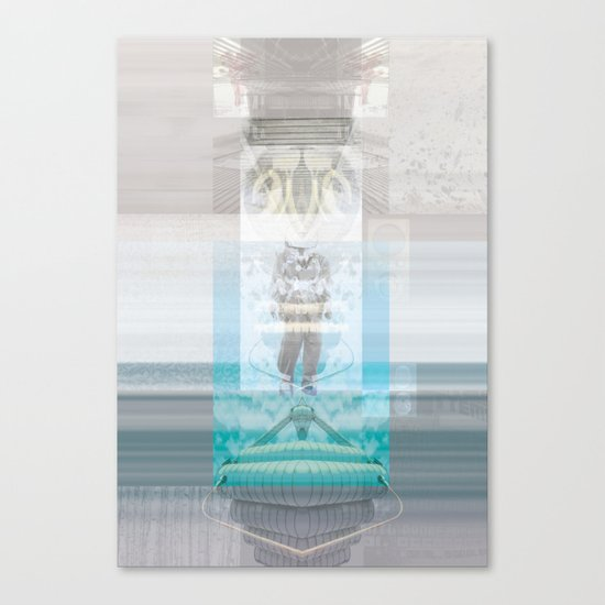 ( A || I ) spirazione Canvas Print