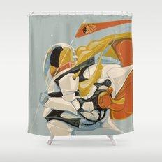 Cicada Squad Shower Curtain