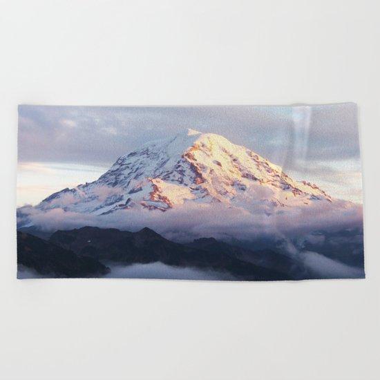 Marvelous Mount Rainier 2 Beach Towel