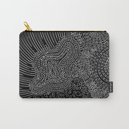 tiny lines Carry-All Pouch