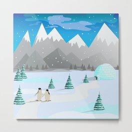 Christmas #Winter Metal Print