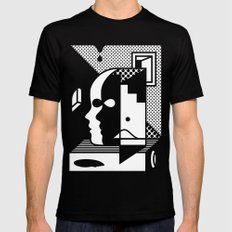 Stairs To The Attic Mens Fitted Tee SMALL Black
