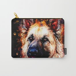 german shepherd dog v2ws Carry-All Pouch