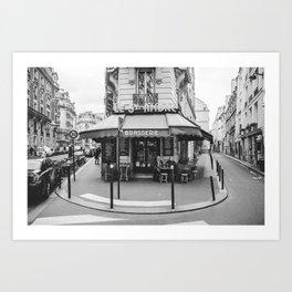 Brasserie Paris Art Print