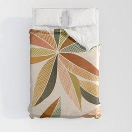 Autumn Japanese Maple / Botanical Design Duvet Cover