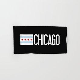 Chicago: Chicagoan Flag & Chicago Hand & Bath Towel