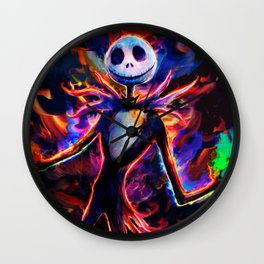 nightmare before christmas 2 Wall Clock