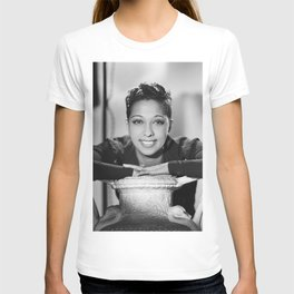 Josephine Baker Portrait of an African American Woman black and white photograph / art photography T-shirt