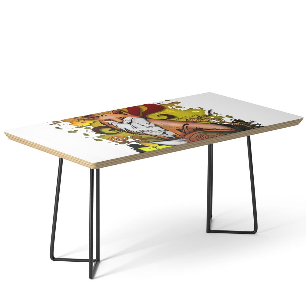 Outdoor Fox Coffee Table by adamzworld