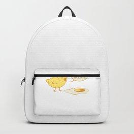 Küken Spiegelei Kaputtes Ei Hühner Backpack