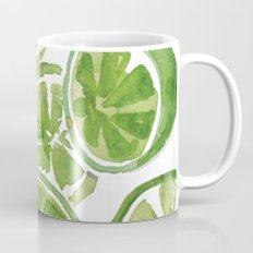 Watercolor LIMES Coffee Mug