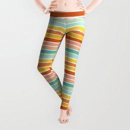 Over Striped Leggings