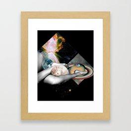Space Bum Framed Art Print
