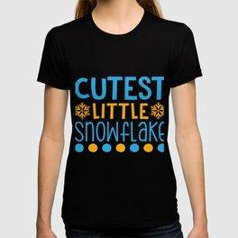 Cutest Little Snowflake shirt T-shirt